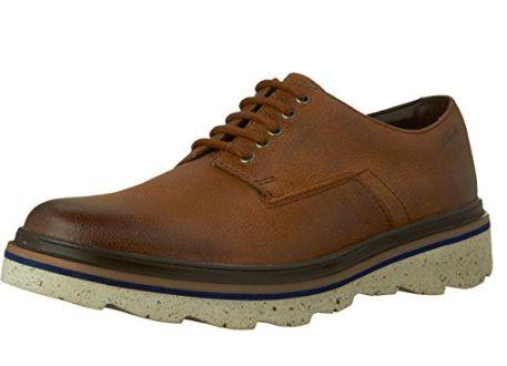Clarks Frelan 男士系带皮鞋 53.55加元起特卖(2色),原价 160加元,包邮