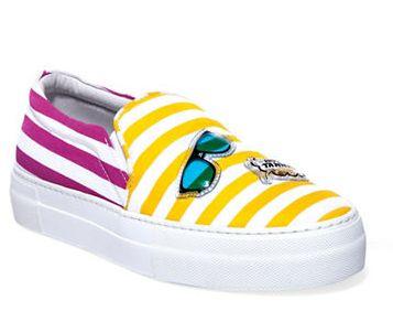 JOSHUA SANDERS Multidenim 女款懒人鞋 198.5加元(9码),原价 397加元,包邮