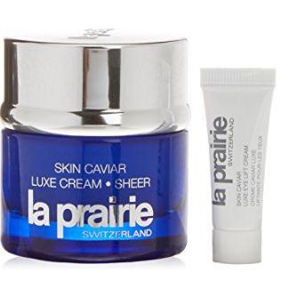 La Prairie 鱼子精华琼贵乳霜(50ml)+眼霜(15ml)套装 471.72加元,原价 594加元,Saks Fifth Avenue同款价为606.62加元