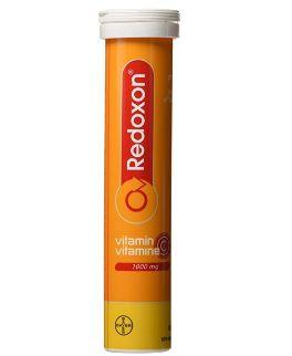 REDOXON 维生素C 泡腾片 4.11加元(15片),原价 9.2加元