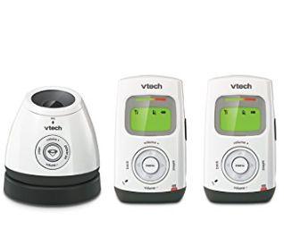 金盒头条:VTech DM222-2 数字音频监护器+夜灯 43.2加元,原价 72.09加元,包邮
