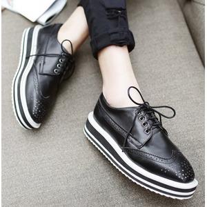明星街拍必备!全场 Prada 真皮厚底牛津鞋 最高立减 200加元!