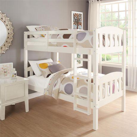 Dorel 儿童实木双层床 279.98加元,原价 349.97加元,包邮