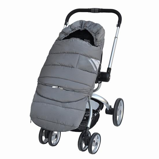 历史新低!JJ Cole Polar 北极系列婴儿推车保暖袋3.9折 57.44加元限时特卖并包邮!