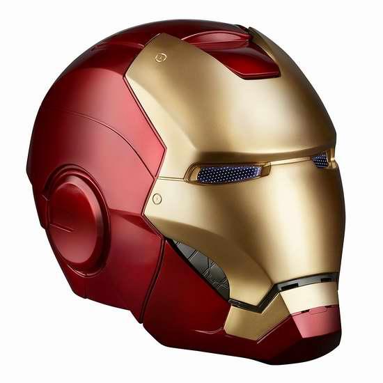 金盒头条:历史新低!Hasbro Avengers Legends Gear 成人版仿真钢铁侠头盔 89.99加元限时特卖并包邮!