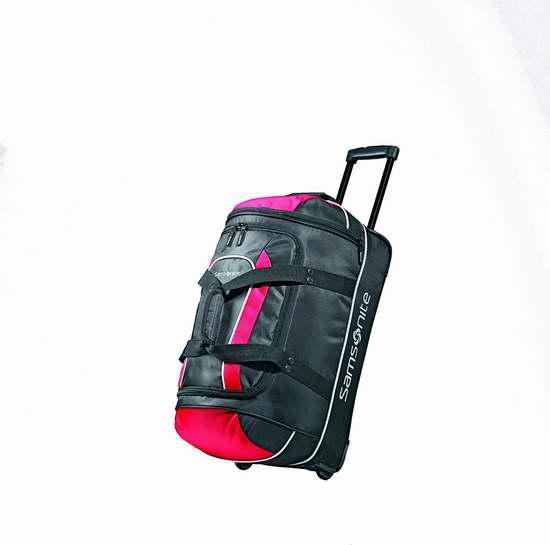 历史最低价!Samsonite 新秀丽 Luggage Andante 22英寸拉杆登机旅行包3.8折 40.06加元包邮!
