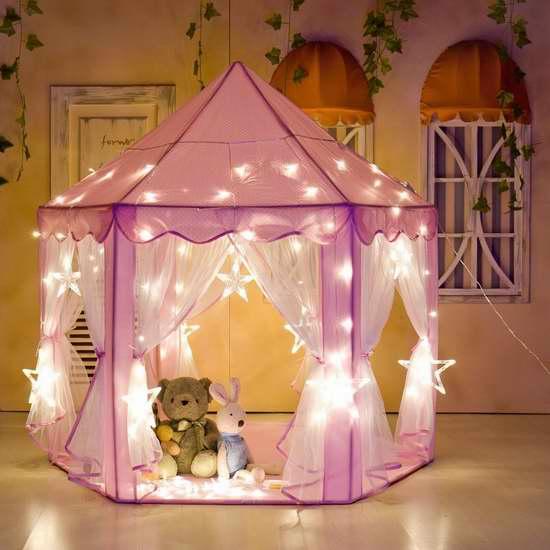 Pericross 粉红超美公主帐篷 49.99加元限量特卖并包邮!