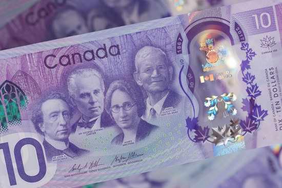 加拿大央行将发行建国150周年10加元纪念钞!