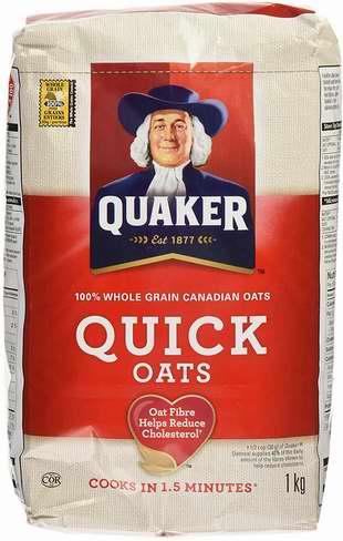 Quaker 桂格 Oats Quick 全天然快熟燕麦片 12公斤超值装 24.83加元限时特卖!