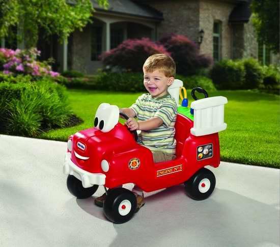 历史最低价!Little Tikes 小泰克 儿童喷水救援消防玩具车5折 49.97加元包邮!