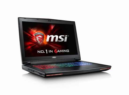 售价大降!历史新低!MSICA 微星 GT72 6QE-1095CA 17.3英寸顶级游戏笔记本电脑5.2折 1381.01加元限时特卖并包邮!