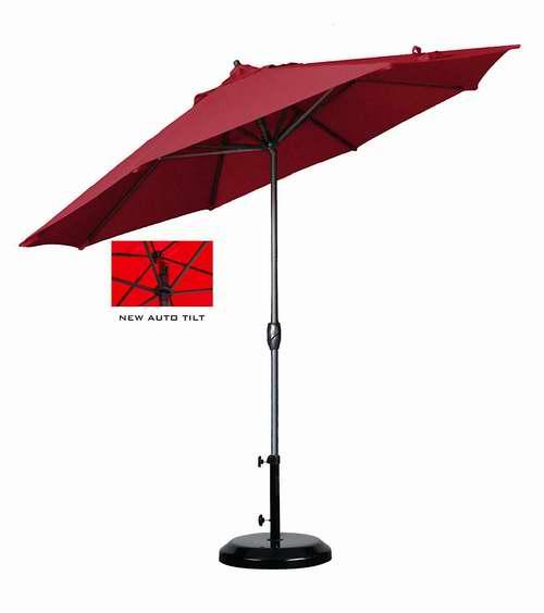 历史新低!California Umbrella ATA908117-F13 9英尺可倾斜庭院遮阳伞 78.67加元限时特卖并包邮!