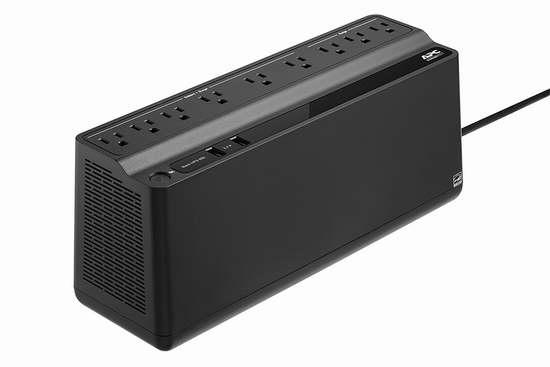 金盒头条:历史新低!APC Back-UPS BE850M2 850VA UPS 不间断备用电源插线板 99.99加元限时特卖并包邮!