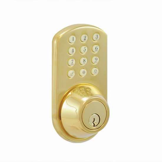 历史新低!Morning Industry HF-01P 电子密码门锁3.2折 52.04加元限时特卖并包邮!
