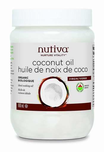 历史最低价!纯天然有机!Nutiva Organic 特级初榨椰子油(860ml)4.4折 14.99加元限时清仓!