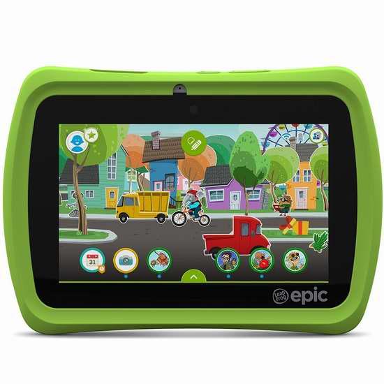 历史最低价!Leapfrog 跳蛙 Epic 7英寸儿童教育平板电脑 129.95加元限时特卖并包邮!
