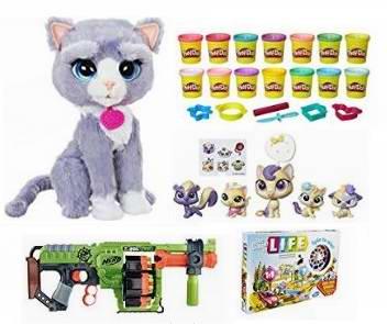 金盒头条:精选36款 Hasbro、Play Doh、My Little Pony、NERF 等儿童玩具、玩偶等2.1折起限时特卖!