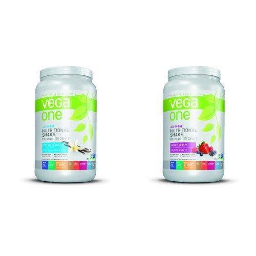 金盒头条:精选2款 Vega All-In-One Nutritional Shake 全天然营养蛋白粉两瓶超值装 79.55加元限时特卖并包邮!