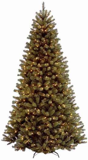 售价大降!历史新低!National Tree 9英尺超高圣诞树+700小灯套装2.1折 78.64加元限时清仓并包邮!