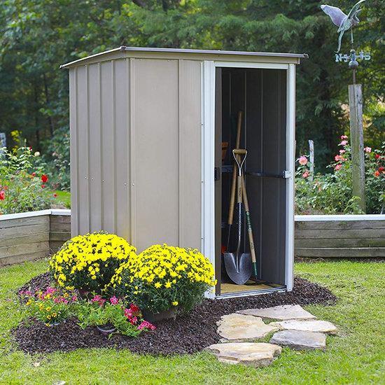 史低手慢无!Arrow Shed BW54-A 5 x 4英尺钢制庭院储物房3.5折 178加元包邮!会员专享!