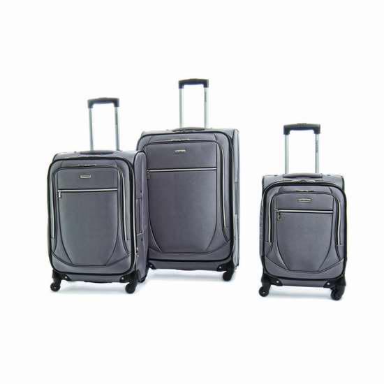 Samsonite 新秀丽 Mystique 21/26/30英寸轻质可扩展拉杆行李箱2.2折 90加元限时特卖!4色可选!