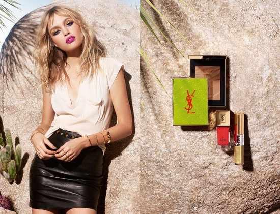 YSL 圣罗兰 2017夏季彩妆 Solar Pop 系列产品全新上市!满65加元送3小样!