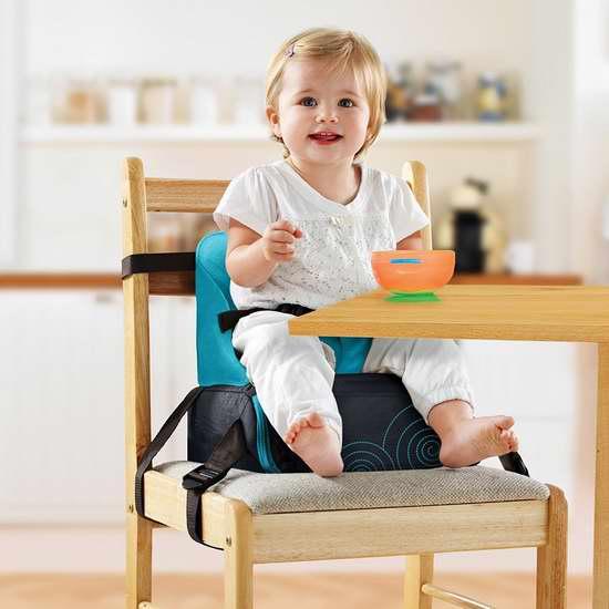 BRICA 便携式婴幼儿增高餐椅 29.95加元限时特卖!