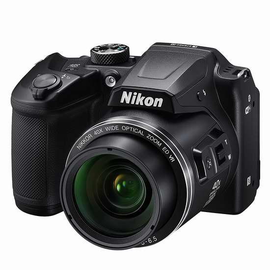 历史新低!Nikon 尼康 COOLPIX B500 40倍变焦数码相机5.9折 199.99加元包邮!
