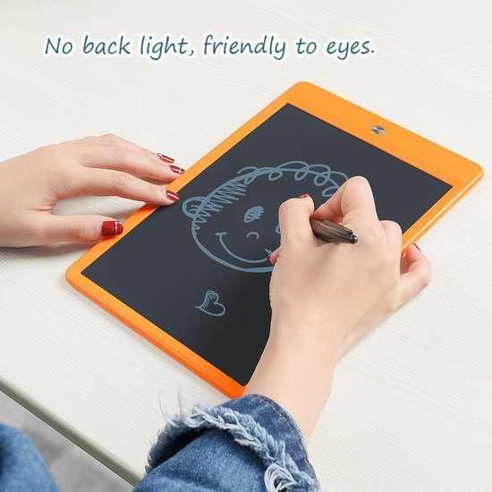 Parblo Pearl P10 10英寸LCD无背光护眼电子写字板/画板 24.64加元限量特卖!