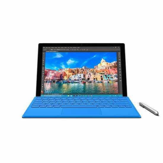 历史新低!Microsoft 微软 Surface Pro 4 i7 (256GB/8GB)12.3英寸平板笔记本电脑 1599.99加元限时特卖并包邮!