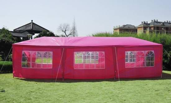 历史新低!Outsunny 840-055PK 3x9米 超大聚会帐篷2.4折 111.72加元限时清仓并包邮!