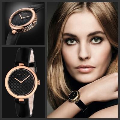 历史新低!Gucci 古驰 Ya141501 Diamantissima 女士时尚玫瑰金腕表3.8折 464.01加元限时清仓并包邮!
