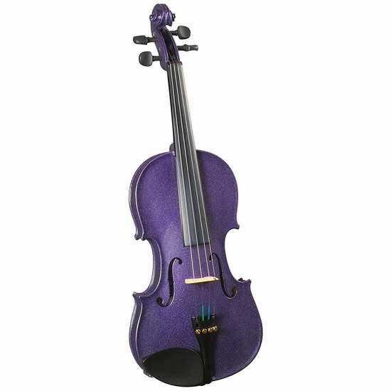 历史新低!Cremona SV-130 4/4 Size 入门级小提琴3.5折 96加元限时特卖并包邮!