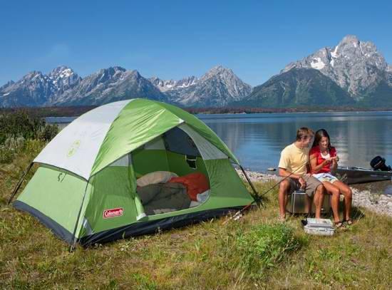 历史新低!Coleman Sundome 4人家庭野营帐篷 69.61加元限时特卖并包邮!