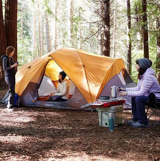 近史低价!AmazonBasics 8人超大家庭野营帐篷 98.43加元包邮!