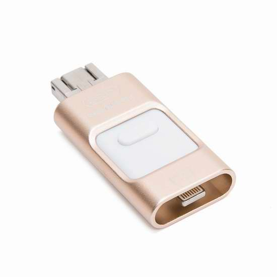 Ohmotor 三合一 迷你多用途智能手机U盘 39.94加元限量特卖并包邮!