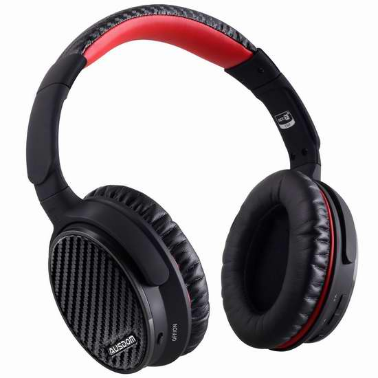 AUSDOM ANC 7 主动降噪头戴式蓝牙耳机 82.99加元限时特卖并包邮!