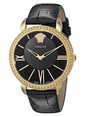 历史新低!Versace 范思哲 VQQ030015 New Krios 女士时尚腕表/手表4.6折 484.49加元限时清仓并包邮!