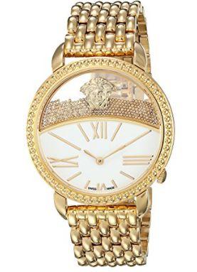 历史新低!Versace 范思哲 VAS100016 KRIOS 女士时尚腕表/手表2.5折 699加元限时清仓并包邮!