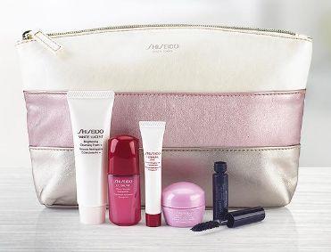 Shiseido 资生堂 购满45加元,送价值89加元6件套大礼包!