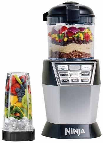 历史新低!SharkNinja NN102 Nutri Ninja 食物料理搅拌机套装 99.99加元限时特卖并包邮!