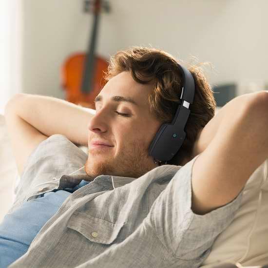 历史新低!Aukey EP-B18-CA 头戴式触控蓝牙无线耳机3.6折 16.79加元!