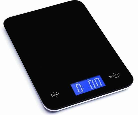 Ozeri Touch 专业数字式厨房秤3.6折 11.95加元限量特卖!