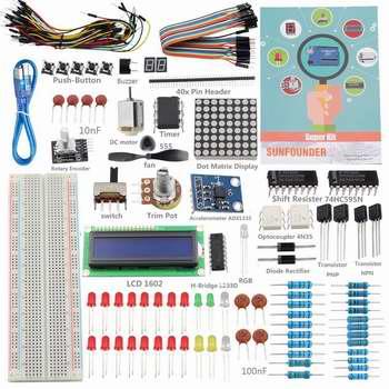 Sunfounder Arduino入门者学习套装2.2折 9.53加元限量特卖!