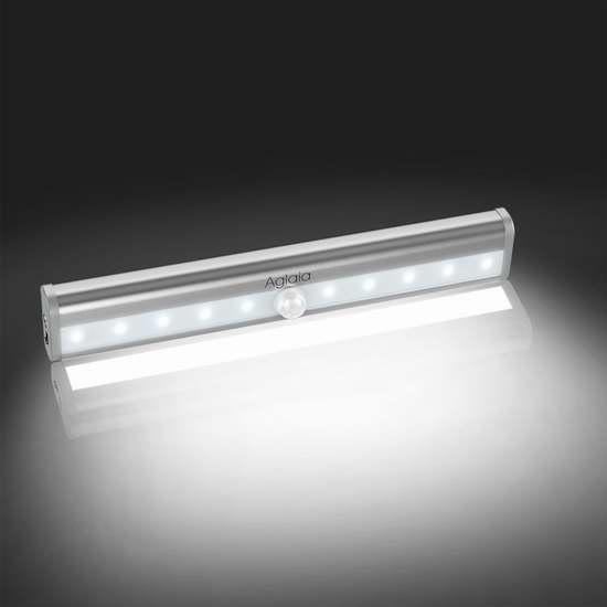 Aglaia 10 LED 室内运动感应灯/壁橱灯 8.99加元清仓!