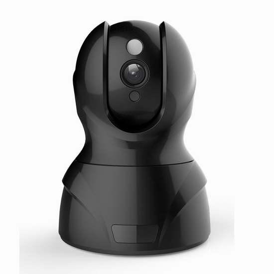 Morrivoe WiFi 1080P 高清无线监控摄像头 57加元限量特卖并包邮!