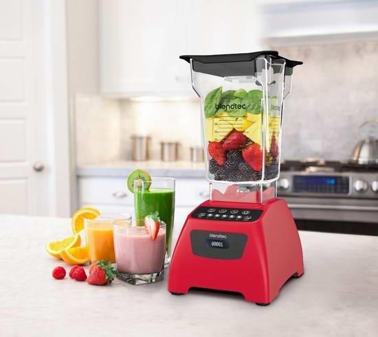 历史新低!Blendtec 经典575系列 全营养多功能破壁料理机4.9折 339.99加元限时特卖并包邮!
