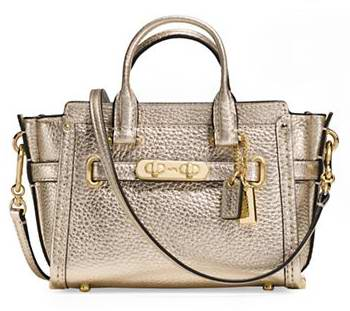 COACH Swagger 15 女士时尚真皮单肩/手提包 178.5加元限时特卖并包邮!