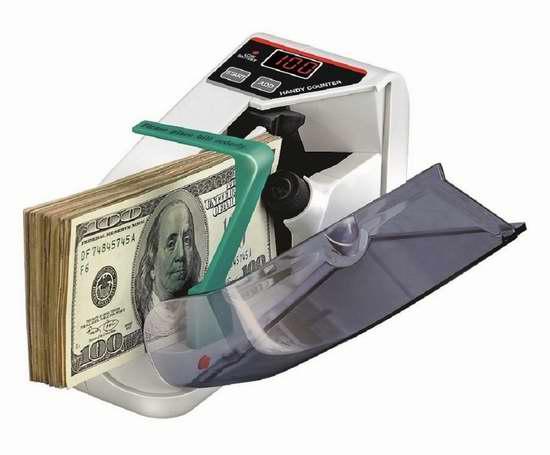 Seesii 迷你便携式快速点钞机 59.4加元限量特卖并包邮!