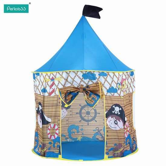 pericross Teepee 便携弹出式儿童城堡/帐篷 33.99加元限量特卖并包邮!